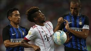El Inter sentenció al Bayern en la primera parte