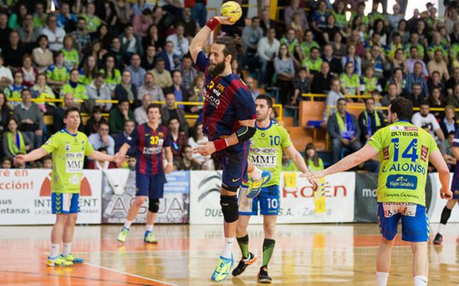 El Barça conquista la Liga Asobal