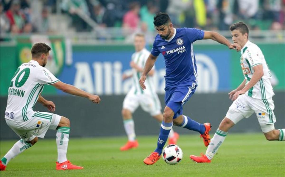 Cuatro: Diego Costa utiliza el 'transfer request' para regresar al Atlético