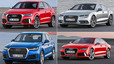 The cars which Barcelona players have chosen from Audi