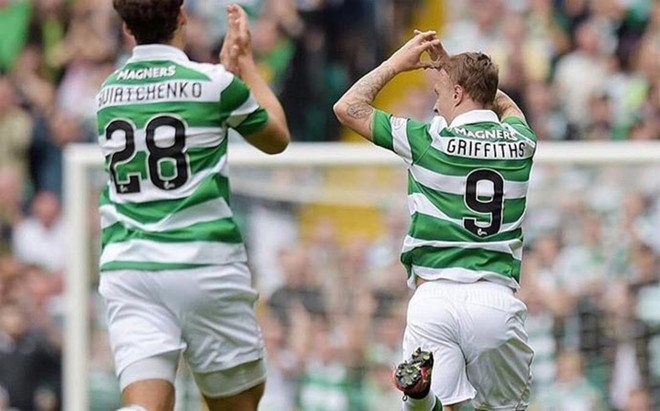 Griffiths volvi� a marcar con el Celtic