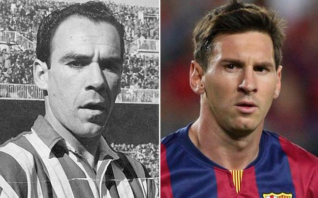 Messi supera a Zarra!