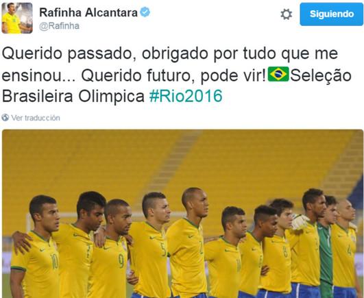 El mensaje de Rafinha Alc�ntara en las redes sociales