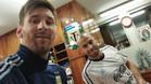 Messi y Mascherano ya est�n concentrados con Argentina