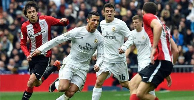 Real Madrid, 4 - Athletic, 2