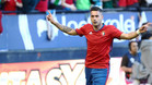 Sergio León está cuajando una gran campaña pese a la gris temporada de Osasuna