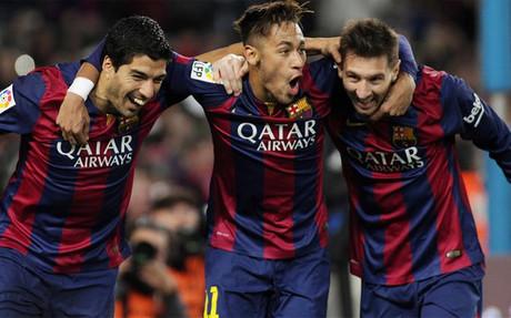 Suárez, Neymar y Messi han firmado una temporada de ensueño