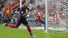 Luis Su�rez abri� el marcador frente al Sporting