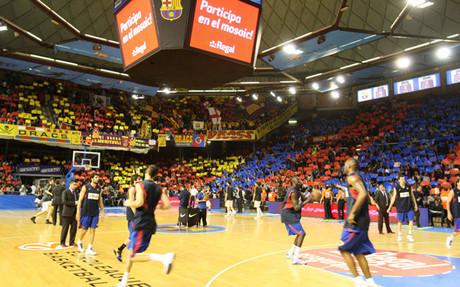 El Palau ha sido escenario de grandes �xitos en la historia de las secciones del FC Barcelona