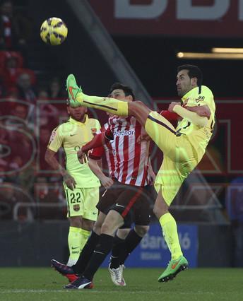 صور : مباراة أتليتيكو بلباو - برشلونة  2-5 ( 08-02-2015 ) 1423435351917