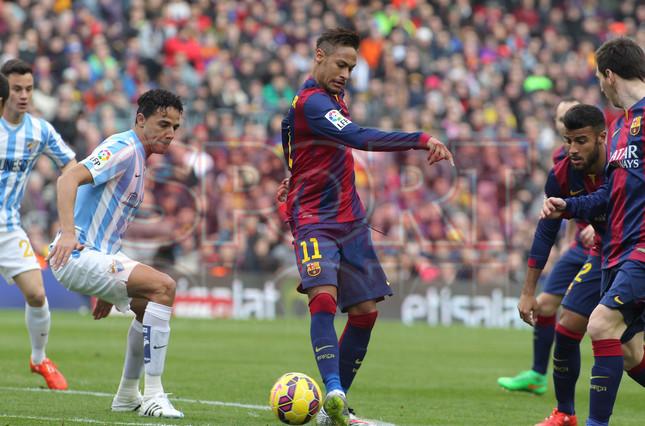 صور : مباراة برشلونة - ملقا  0-1 ( 21-02-2015 )  1424541222017