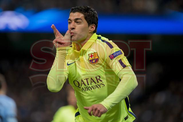 صور : مباراة مانشستر سيتي - برشلونة 1-2 ( 24-02-2015 )  1424816350317