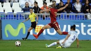 La selección española femenina medirá sus fuerzas con Suiza el 22 de enero