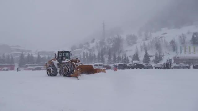 Temporal de nieve en Vallnord
