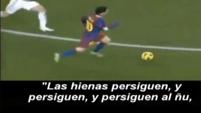 El polémico video de las hienas y el Real Madrid