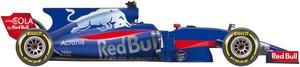 El coche de Toro Rosso para el Mundial de F1 2017