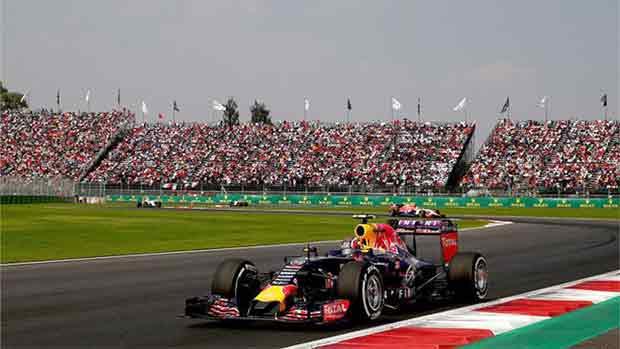 El circuito Autódromo Hermanos Rodríguez del GP de México de F1 (ES)
