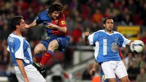 El Benidorm en su última gran aparición en la Copa del Rey