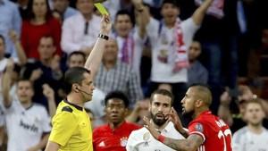 Momento de la amarilla de Vidal