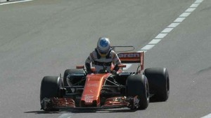 Fernando Alonso abandonó el Gran Premio de Rusia