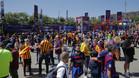 La Fan Zone del Barça en Madrid para la final de la Copa del Rey 2015/16 contra el Sevilla