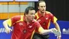 He Zhi Wen, Juanito, durante la disputa de un Europeo en Austria