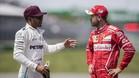 Hamilton, dialogando con Vettel en Montreal