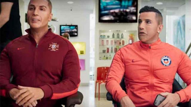 La parodia de Alexis Sánchez y Cristiano bailando Despacito