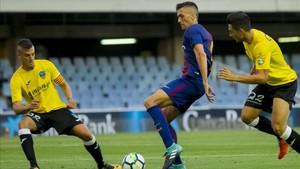 Martínez es uno de los baluartes defensivos del filial