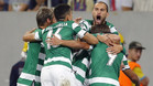 El Sporting firmó una manita a domicilio