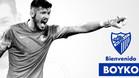 Boyko jugará en el Málaga