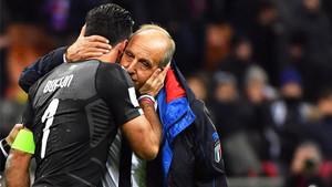 Buffon deja la selección y Ventura fue destituido