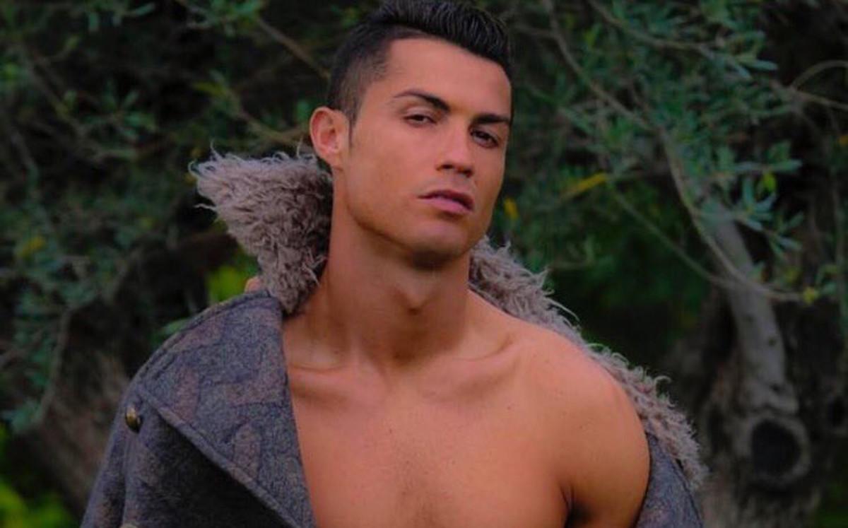La última pose erótica de Cristiano Ronaldo