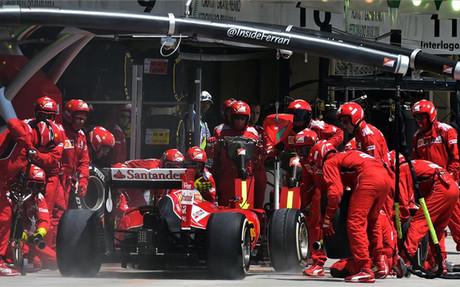 Fernando Alonso y Ferrari no han terminado de cuajar