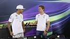 Hamilton y Rosberg mantienen una tensa relación