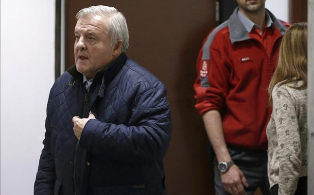 El juez cita a declarar al expresidente Patxi Izco