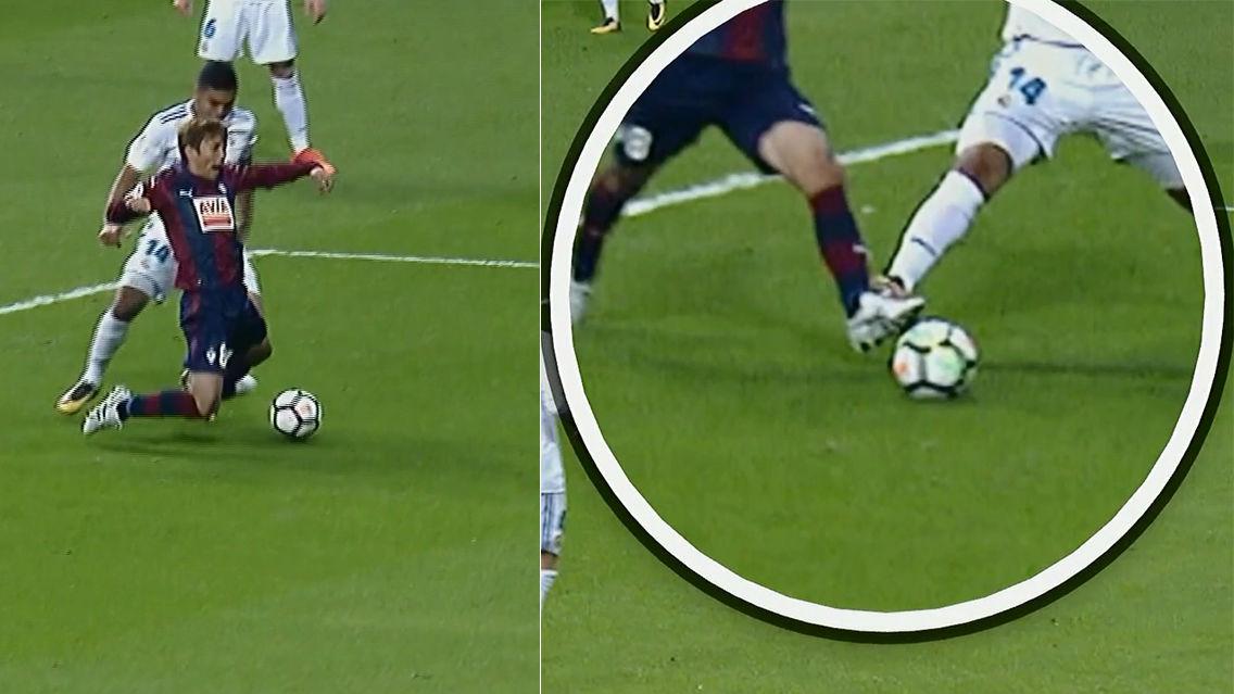 LALIGA | Real Madrid-Eibar (3-0): La falta de Casemiro sobre Inui