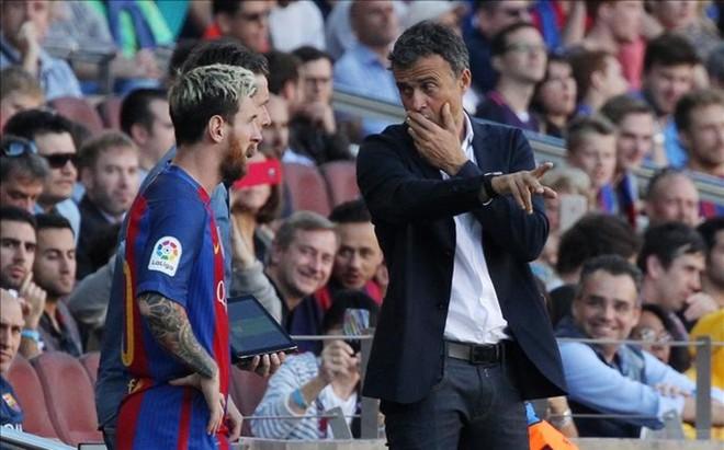 Messi, un lujo para Luis Enrique