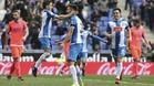 Marc Navarro, felicitado por Piatti, debutó en el primer equipo logrando un gol