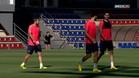 Ter Stegen y Masche ya entrenan y podr�an jugar ante el Athletic
