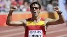 Miguel �ngel L�pez es el actual campe�n del mundo de los 20 km marcha