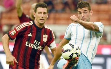 El Milan gan� al Lazio