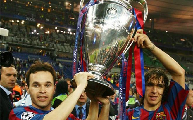 La primera Champions de Iniesta en Par�s