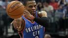 Russell Westbrook, lidera a los Oklahoma City Thunder