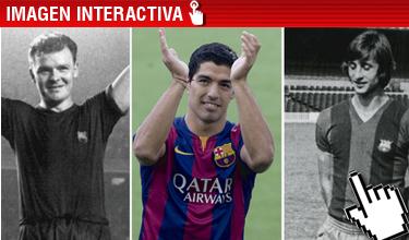 Su�rez, debut en diferido como Kubala y Cruyff