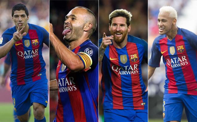 Su�rez, Iniesta, Messi y Neymar, candidatos a ganar el Bal�n de Oro 2016