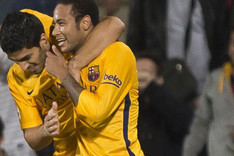 Su�rez y Neymar acompa�ar�n a Messi en el tridente ofensivo del FC Barcelona
