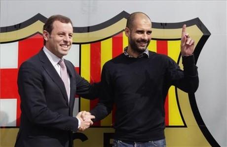Rosell et Guardiola pourrait très bientôt célébrer une nouvelle prolongation du coach