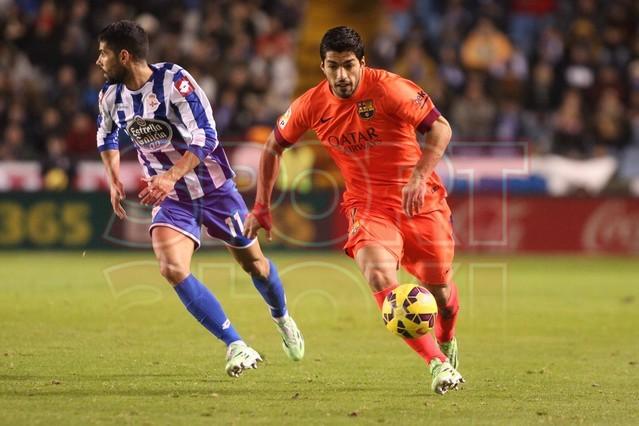 صور : مباراة ديبورتيفو لاكورونيا - برشلونة 0-4 ( 18-01-2015 )  1421614440327