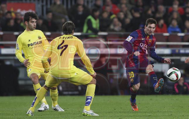 صور : مباراة برشلونة - فياريال 3-1 ( 11-02-2015 ) 1423690200327